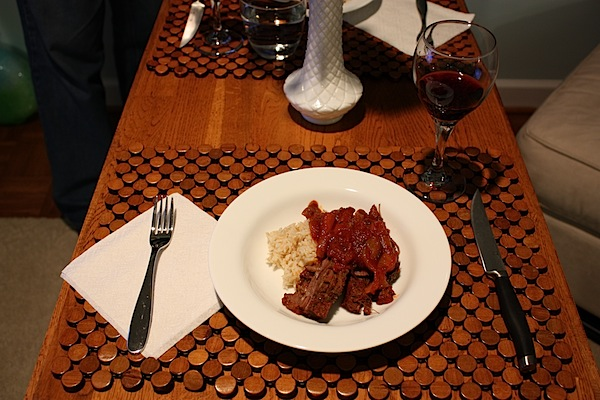 Hubby's B-day Dinner In