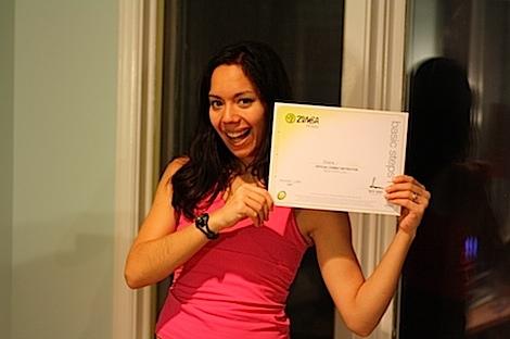 Zumba B1 Certificate