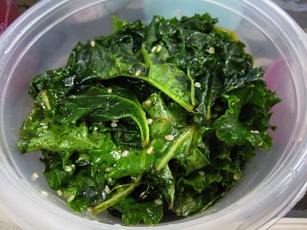 how to cook kale greens in microwave