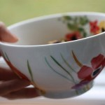 New Oatmeal-icious Floral Bowl