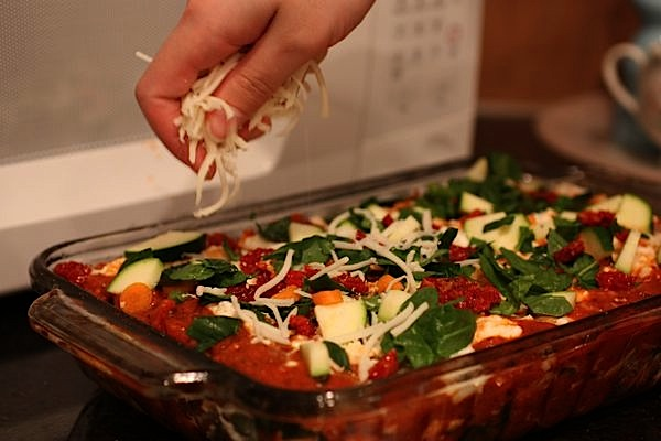 Easy + Delicious Vegetable Lasagna