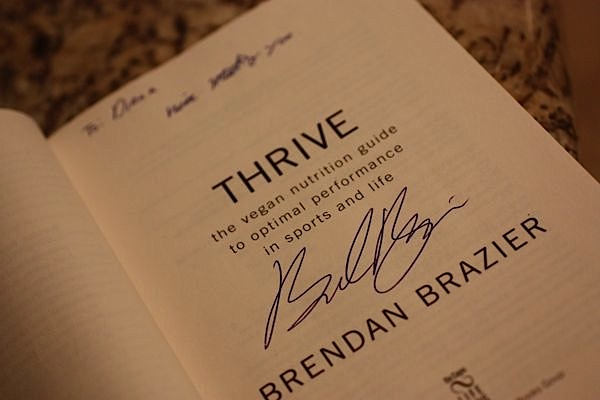 Lessons Learned from Brendan Brazier