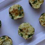 Mini Spinach/Rice Frittatas + Theo Orange Dark Chocolate