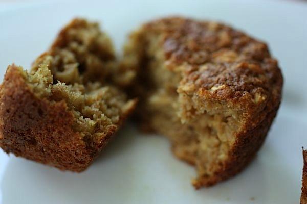 Applesauce (Cranberry) Oat Muffins