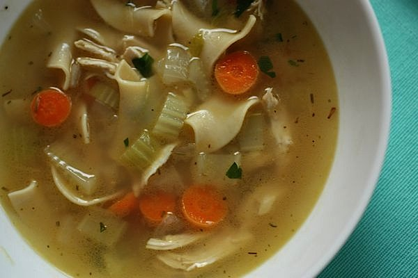 Cozy Chicken Noodle Soup