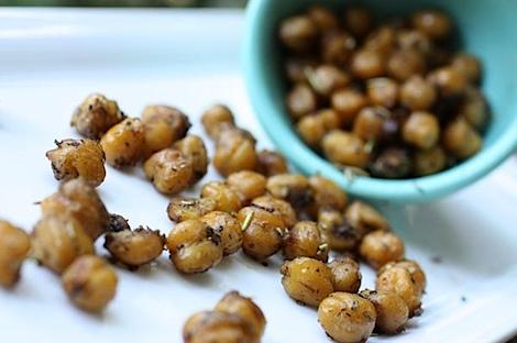 Balsamic Roast Chick Peas Recipe #healthy #snack #recipe