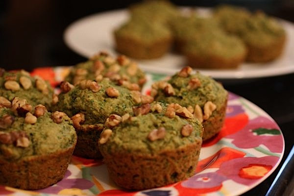 Vegan Green Monster Muffins Recipe