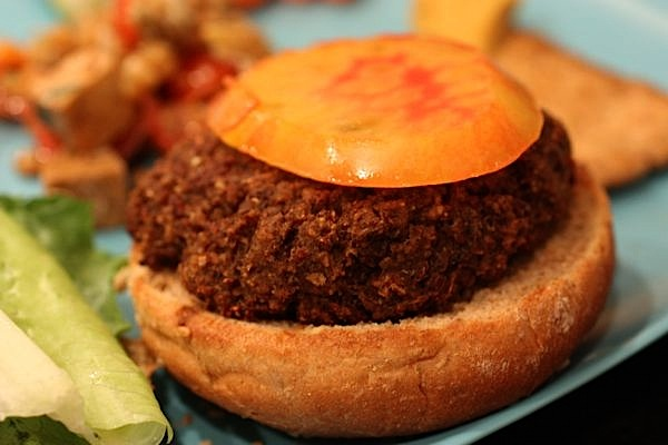 Southwest Quinoa Burgers Recipe