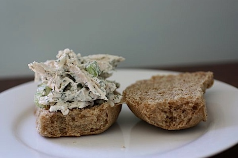 Healthy Dill Chicken Salad Recipe
