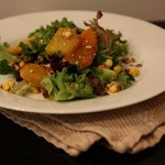 Golden Autumn Salad