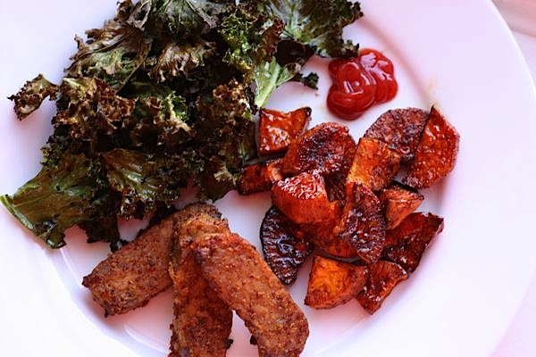 Maple Dijon Baked Tempeh Recipe