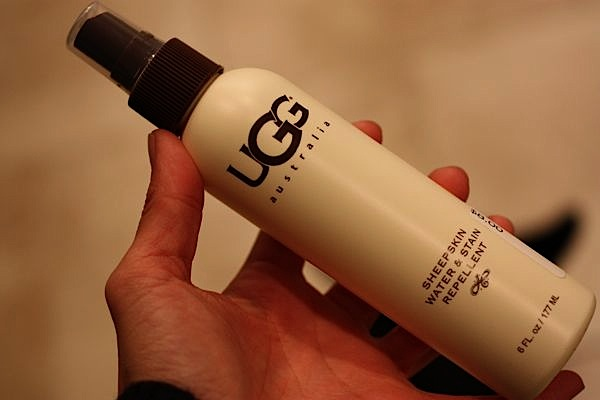 ugg water and stain repellent