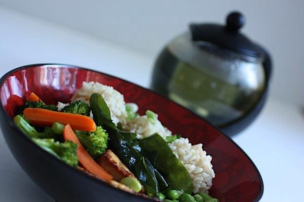 Green Tea Soup Non-Recipe