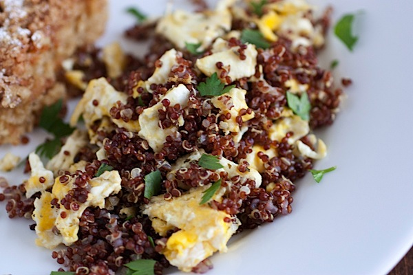 Quinoa Egg Scramble