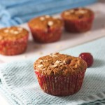Summer Strawberry Muffins (With Oats + Flaxseed)