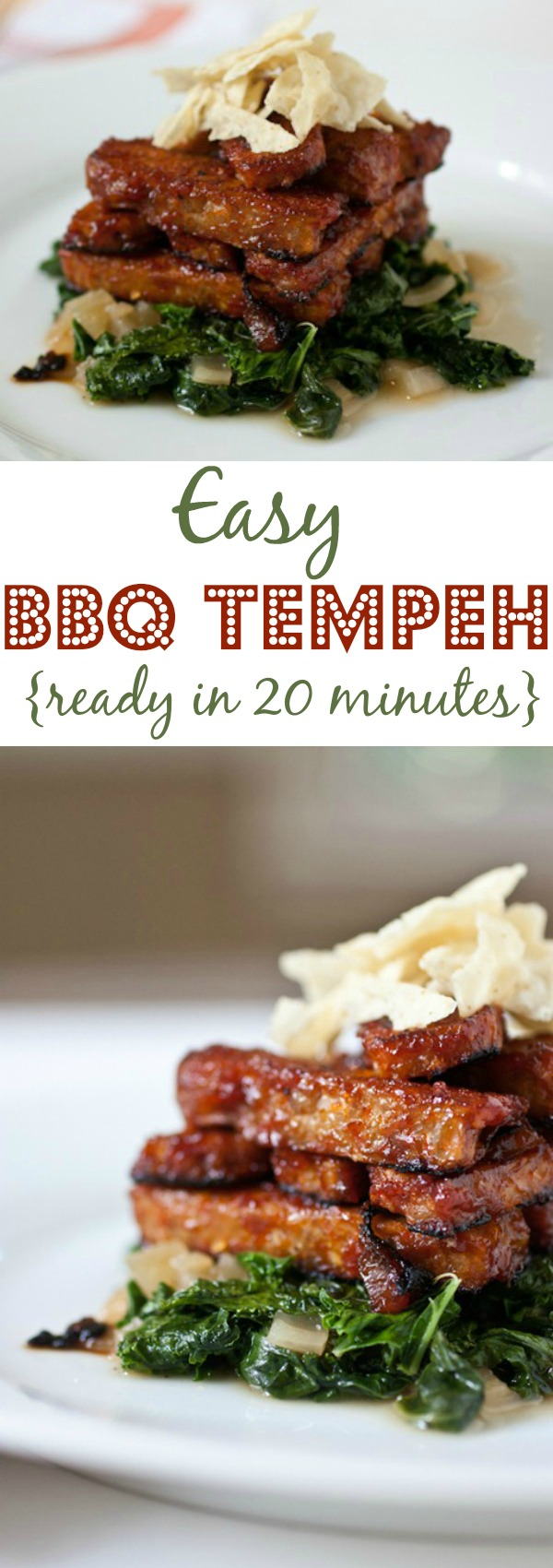 Easy BBQ Tempeh Recipe