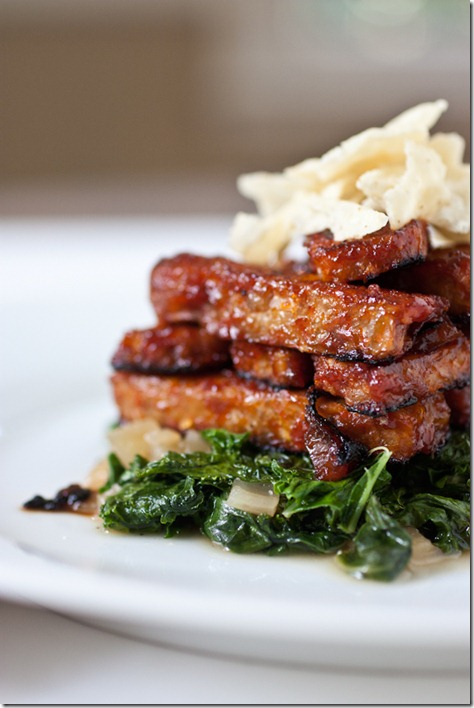BBQ Tempeh and Tangy Power Greens Recipes