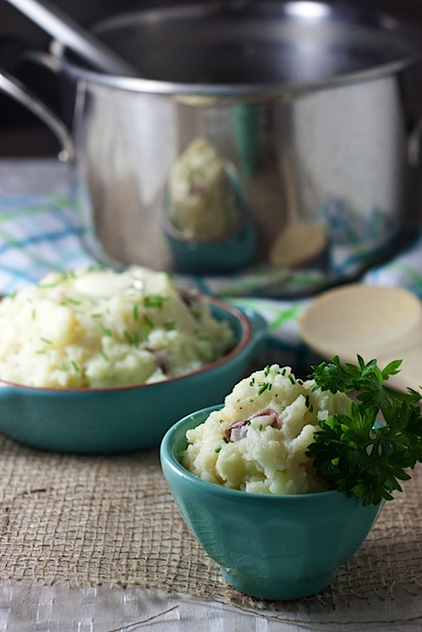 Sneaky Mashed Potatoes (With a Hidden Cauliflower Serving) Recipe