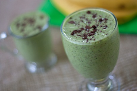 Cookies 'N Cream Green Monster Smoothie (Energy Boosting)
