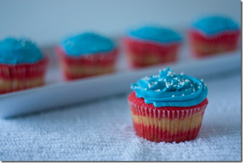 Fourth of July Cupcakes Recipe The Chic Life