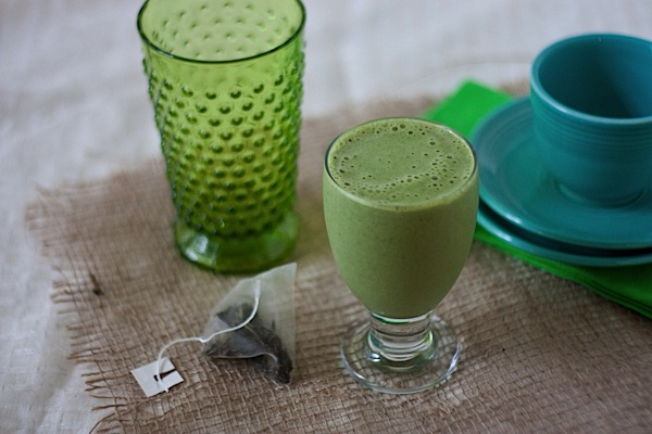 Matcha Green Tea Green Monster Smoothie
