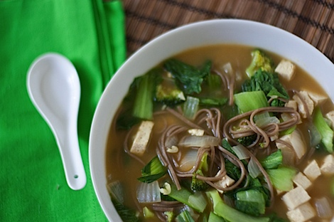 Whole Health Noodle Soup Recipe