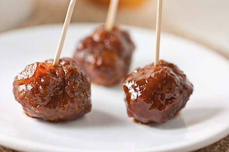 Slow Cooker Meatballs with Orange Marmalade Recipe