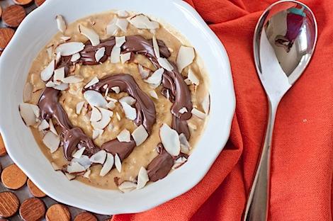 Nutella Swirl Oatmeal