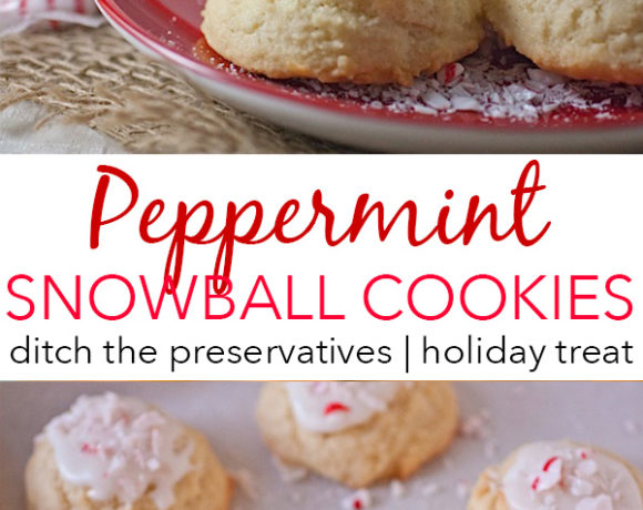 Peppermint Snow/Dough Balls {Use for Leftover Christmas Candy}