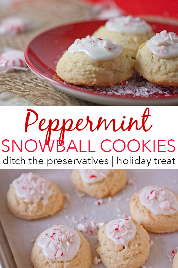 This Christmas cookie recipe is so delicious! A fun peppermint twist on the classic sugar cookie. Making cookies from scratch is easy and yields an easy dessert recipe to make again and again! #recipe #healthy #healthyrecipes #healthyfood #cleaneating #holidayfood #christmascookies #dessert