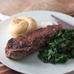 The Steak, the Steak, the Steak Is on Fire…
