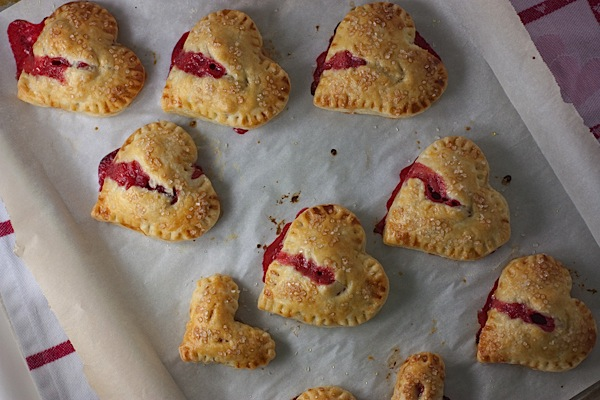 Heart-Shaped Pie Pops