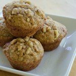 Acorn Squash Muffins with Sweet Walnut Topping Recipe
