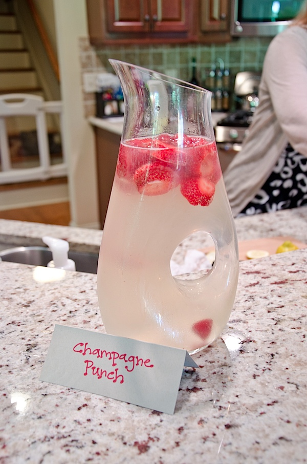 Easy Champagne Punch