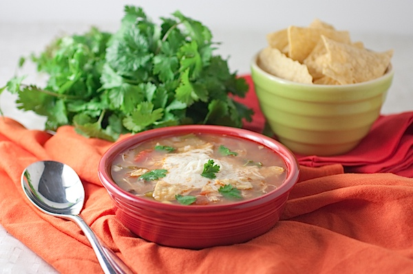 Slow Cooker Chicken Tortilla Soup Recipe