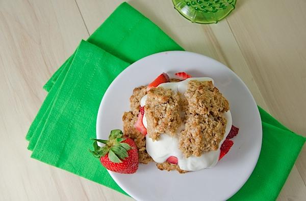 Mini Breakfast Strawberry Shortcake for One Recipe