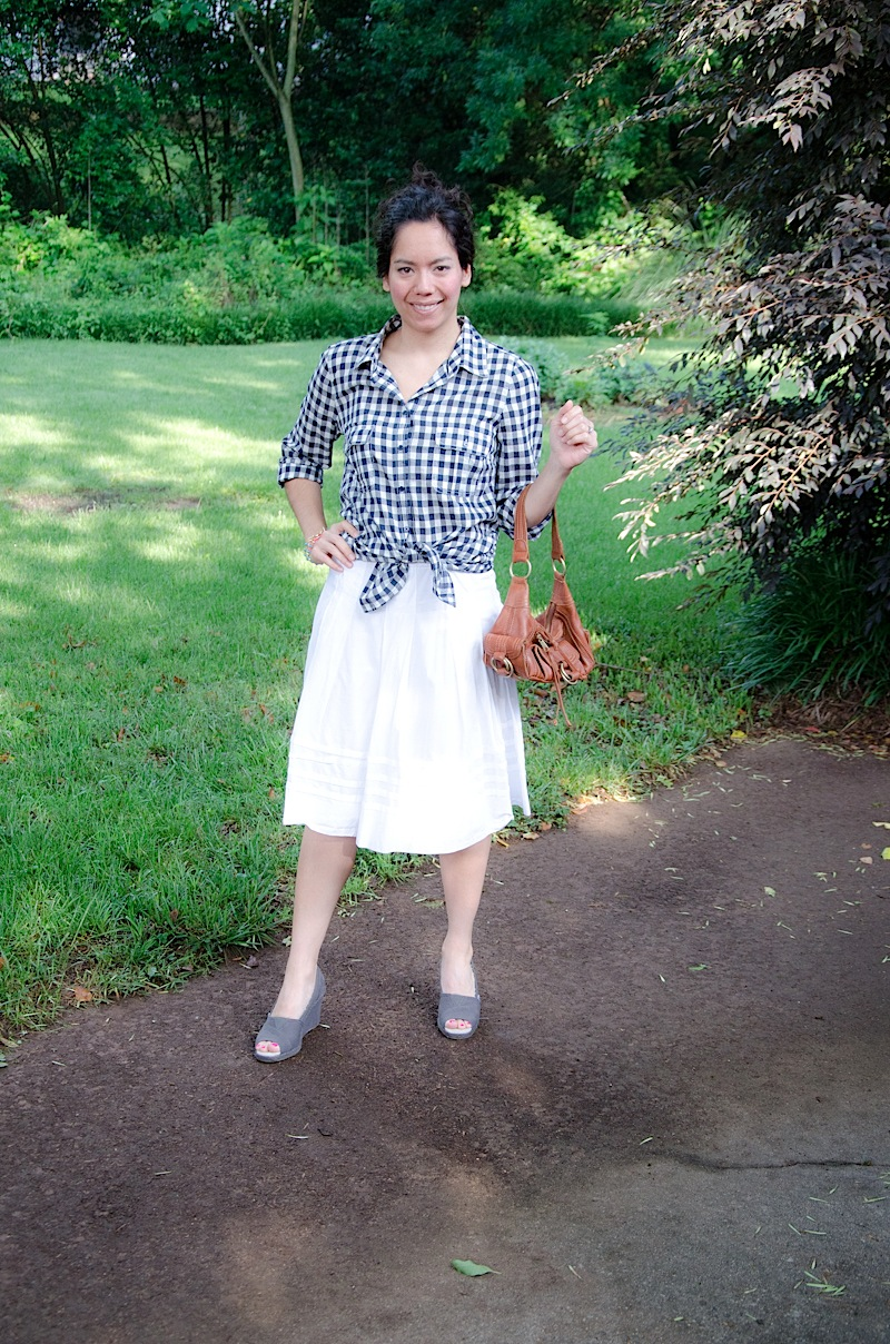 Gingham Options {Outfit}