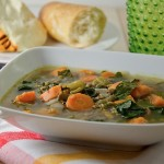 Kale, Sweet Potato, Lentil Soup Recipe