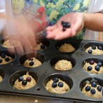 Healthy Blueberry Zucchini Muffins/Bread Recipe