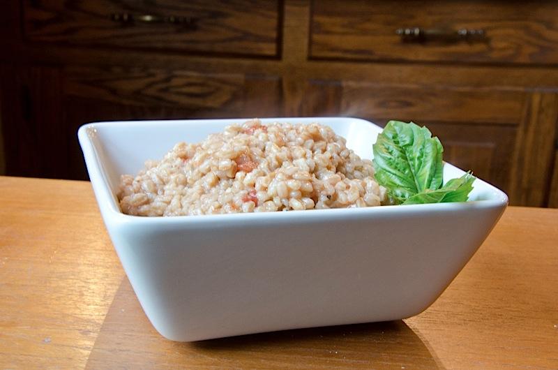 Tomato Basil Farro Recipe