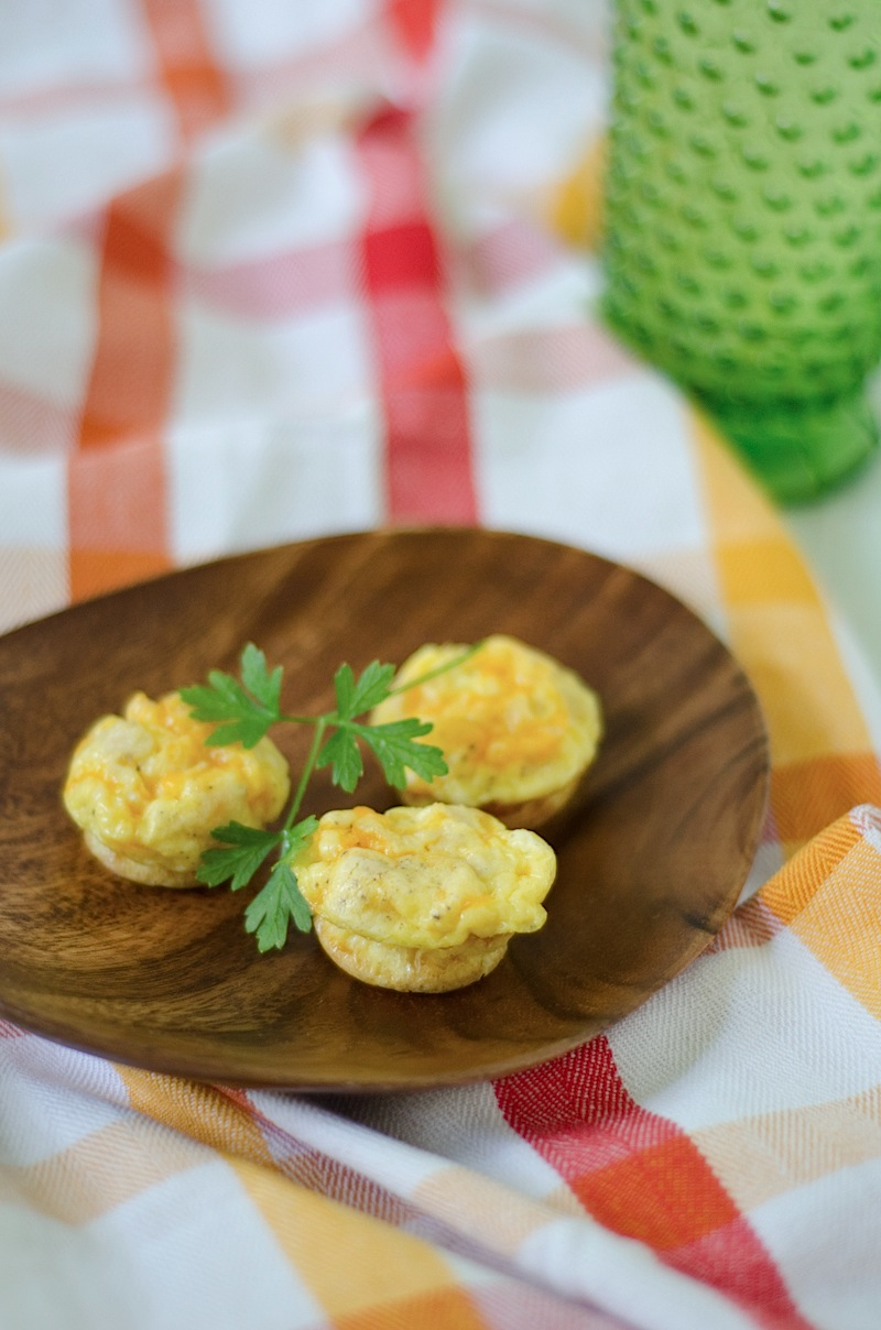 Turkey Cheddar Cheese Mini Frittatas Recipe