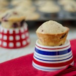 Red, White, and Blue Muffins Recipe