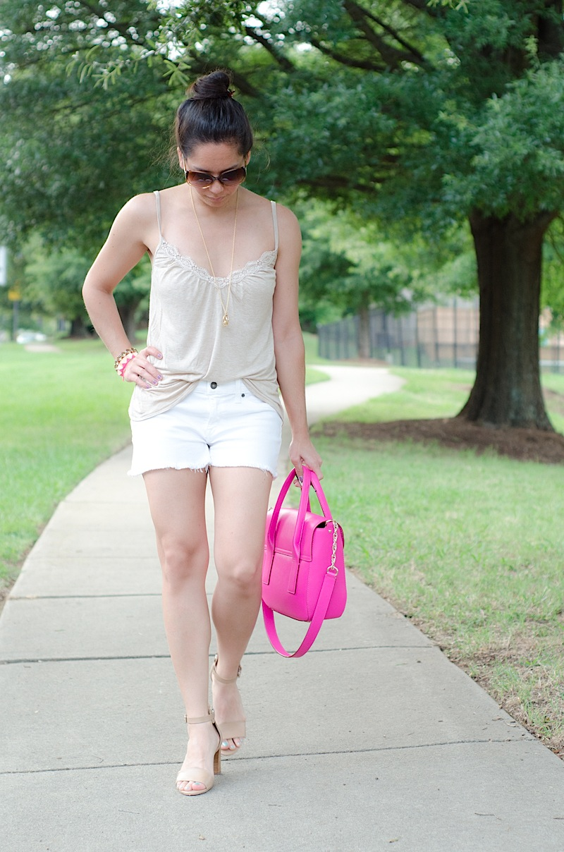 Tonal Whites {Outfit} & Sunday Eats