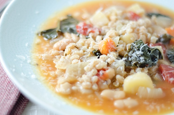 farro kale and turmeric recipes dishmaps chicken soup with farro kale ...