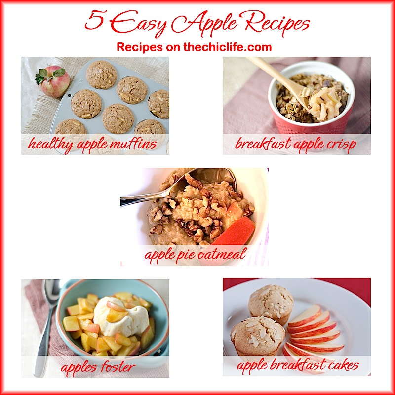 Easy fresh apple recipes