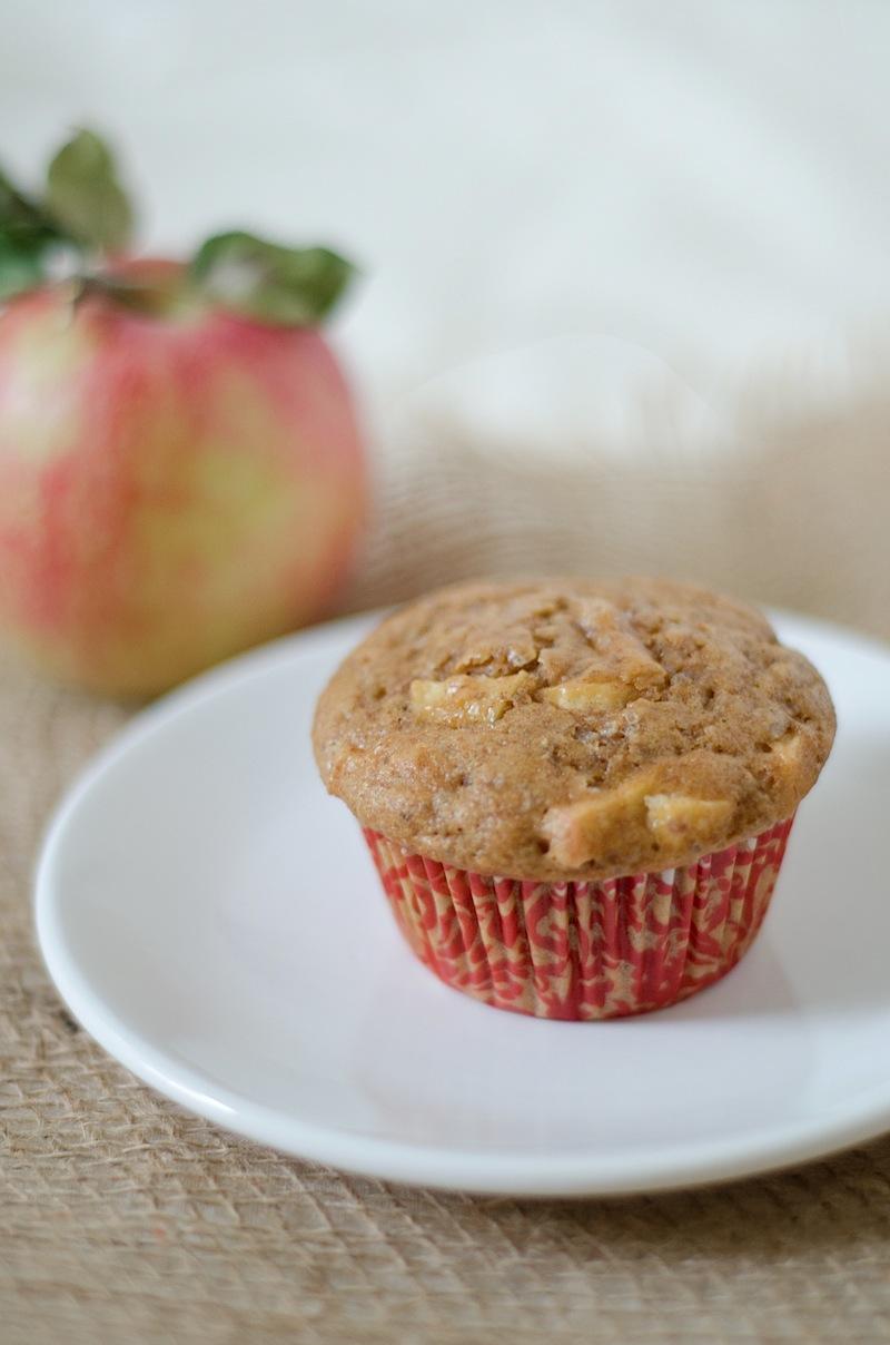 Healthy Cinnamon Apple Muffins Recipe