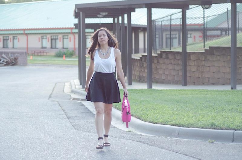 Skater Skirt {Outfit}