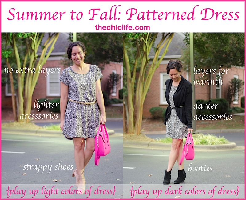 TransitionDress800.jpg - Summer To Fall: Madewell Dress {Outfit} - The Chic Life