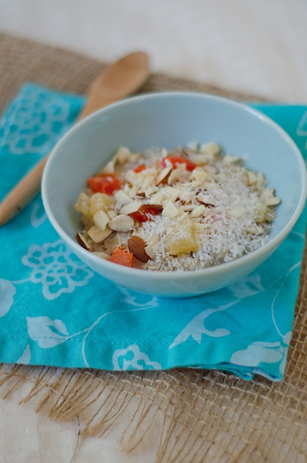Tropical Oatmeal Recipe - Year-Round Island Flavor