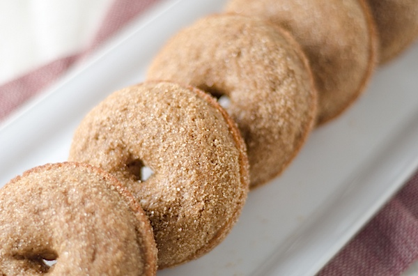 Healthier Baked Apple Cider Doughnuts Recipe